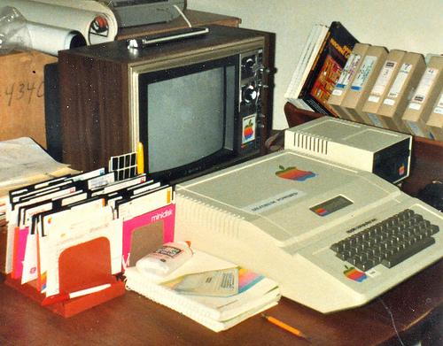 Ordenador antiguo/Vintage computer by Jurtverson from flickr (CC BY 2.0)