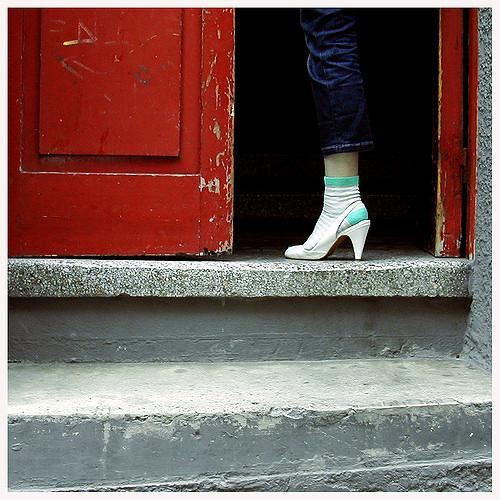 Principios de influencia - Táctica del pie en la puerta | Foto de Susana Aalto: La casa de la puerta roja
